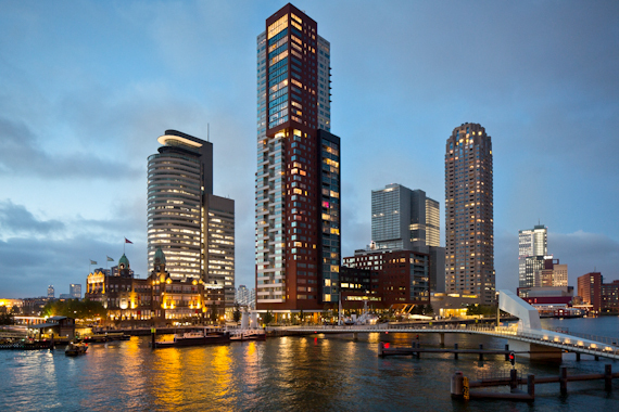 Huffington Post: The Surprising Shock of the New in Rotterdam
